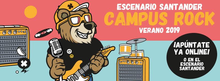Campus Rock Escenario Santander