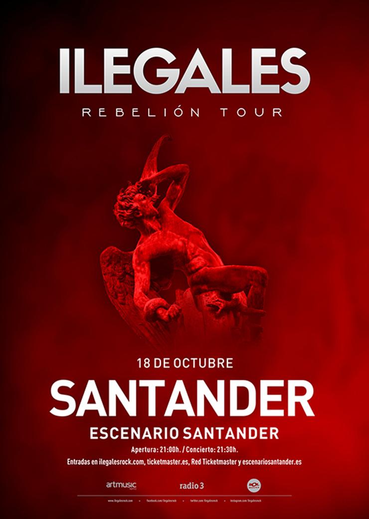 Ilegales_Escenario_Santander