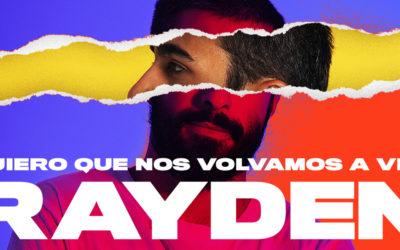 Ya a la venta las entradas para el directo de Rayden en Escenario Santander