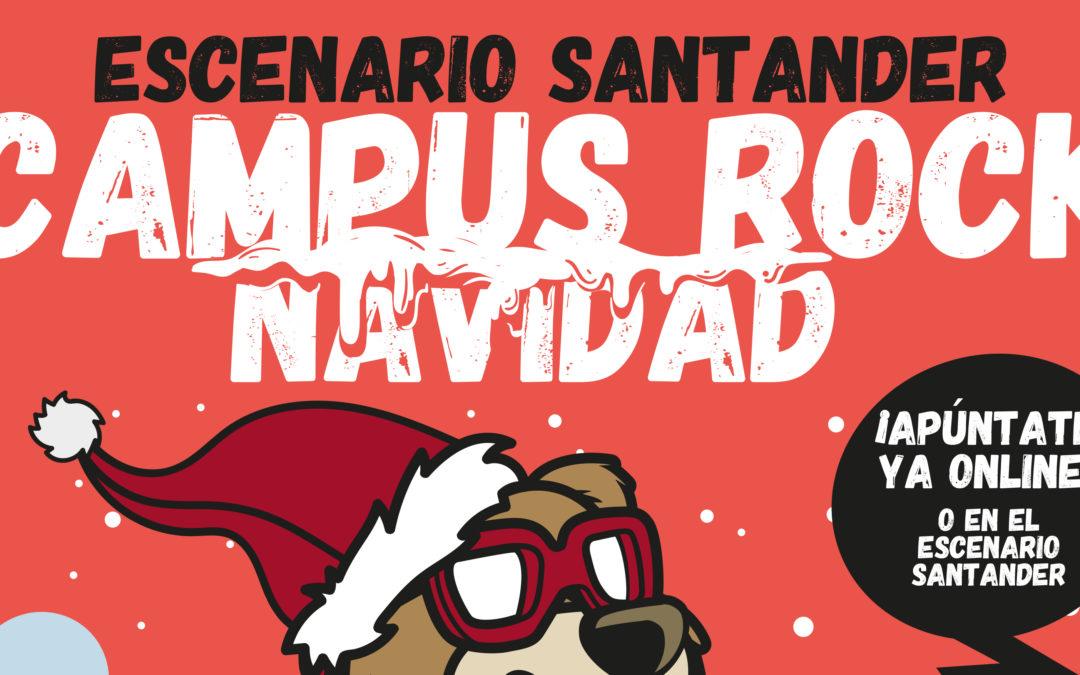 Ya está abierta la inscripción para el Campus Rock de Navidad en Escenario Santander