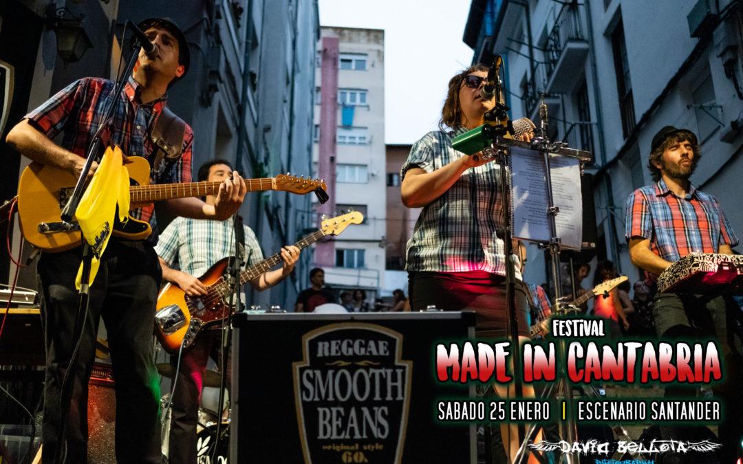 Smooth Beans: Primera banda confirmada para el Made In Cantabria