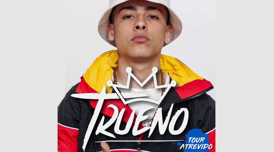Trueno llega a Escenario Santander con Tour Atrevido