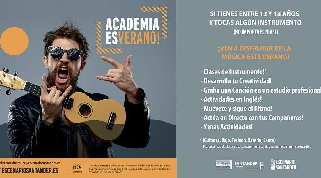 Se pone en marcha la Academia ESverano en Escenario Santander